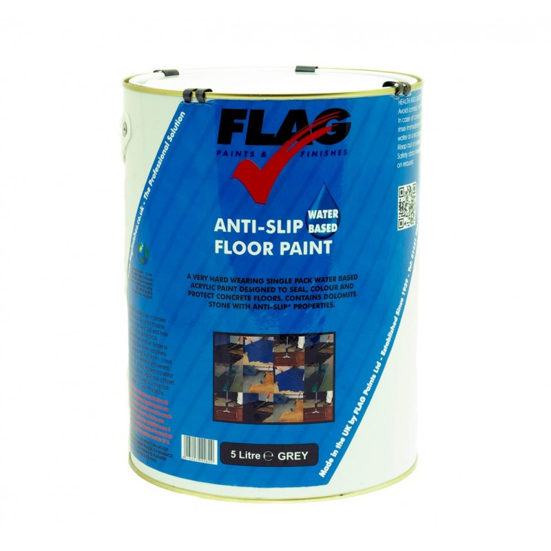 Water Based Anti-Slip Floor Paint - 5 Litres