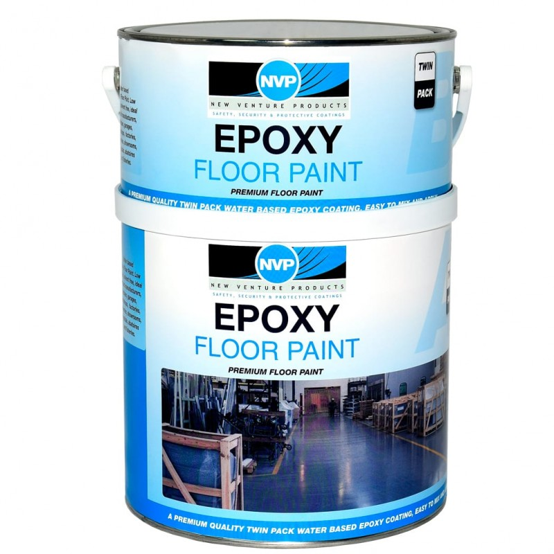2.5 Litre Two Part Water Based Epoxy Floor Paint