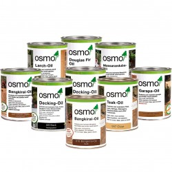 Osmo Range of Decking & Wood Oils