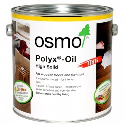 Osmo Polyx Oil Tints 2.5 Litres