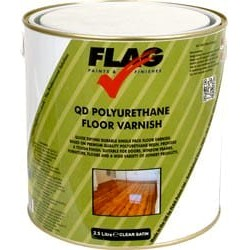 Quick Drying Polyurethane (PU) Floor Varnish 2.5 Litres
