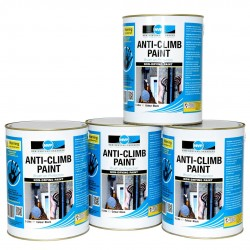 Anti Climb Paint (Anti-Vandal & Anti-Intruder) 20 Litres Black