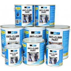 Anti Climb Paint (Anti-Vandal & Anti-Intruder) - 1 litre