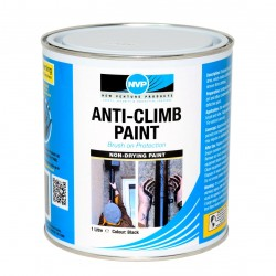 Anti Climb Paint (Anti-Vandal & Anti-Intruder) 1 Litre Dark Green