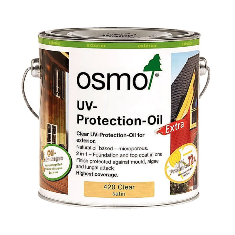 Osmo UV Protection Oil Extra 420D Clear