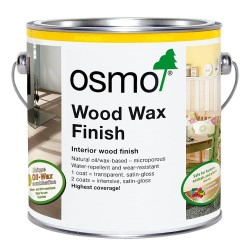 Osmo Wood Wax Finish Transparent 750ml