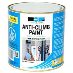 Anti Climb Paint (Anti-Vandal & Anti-Intruder) 2.5 Litres Grey