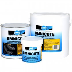 Omnicote 250ml, Rust Converter - Black