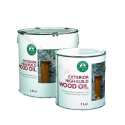 Fiddes Exterior High Build Wood Oil in 1 & 2.5 Litre Tins
