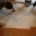 Applying Osmo MS Advance Wood Floor Adhesive